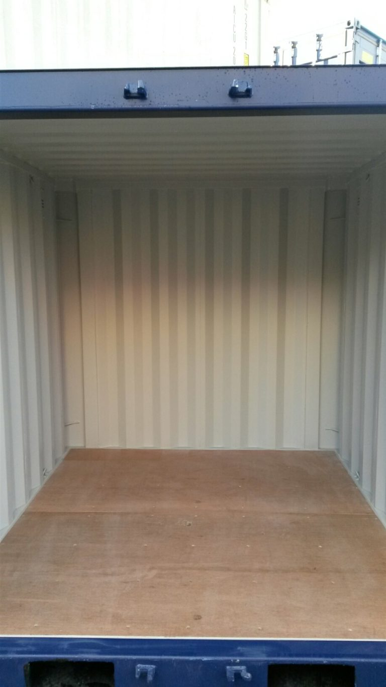 A1 Containers 8ft Container NB - Blue (4)