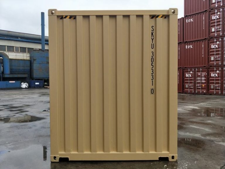 a1containers.co.nz 20ft HC RAL1001 3
