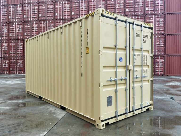a1containers.co.nz 20ft HC RAL1001 5