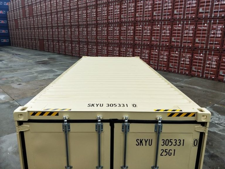 a1containers.co.nz 20ft HC RAL1001 8