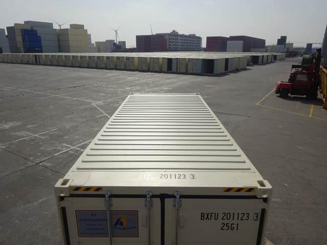 20ft High Cube EOD Beige A1 Containers (10)