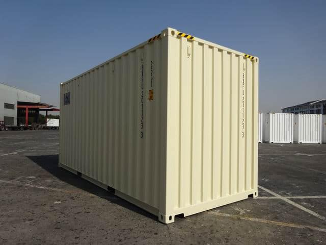 20ft High Cube EOD Beige A1 Containers (3)