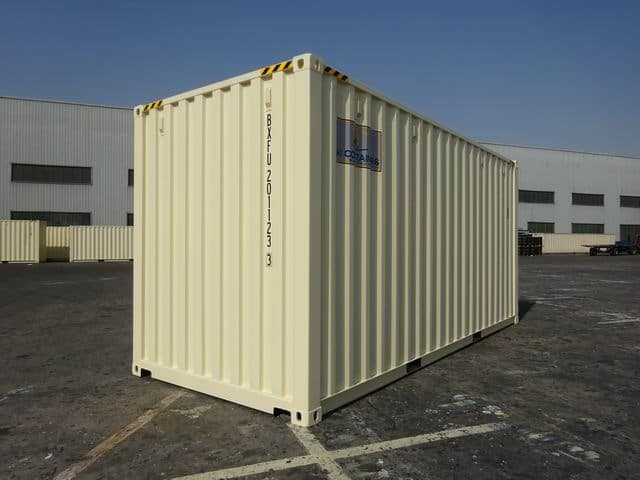 20ft High Cube EOD Beige A1 Containers (5)