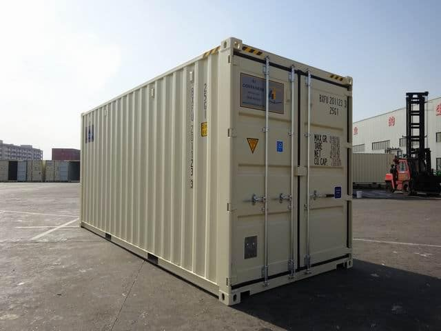 20ft High Cube EOD Beige A1 Containers (7)
