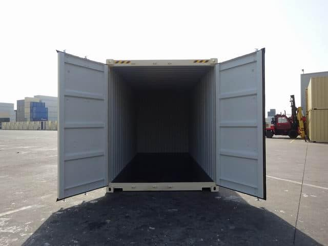 20ft High Cube EOD Beige A1 Containers (8)