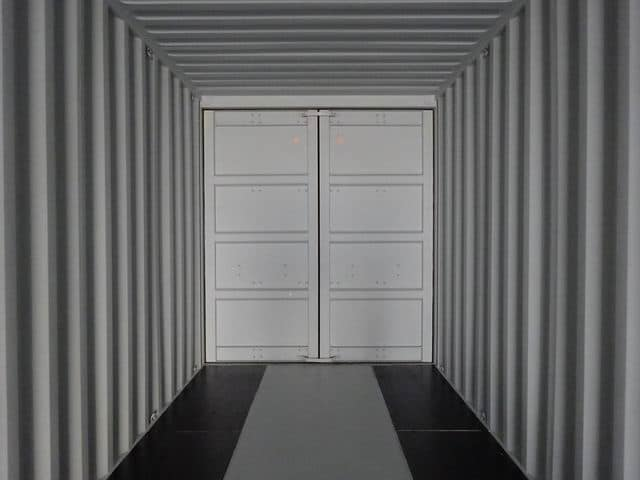 40ft High Cube Double Door Beige A1 Containers (11)