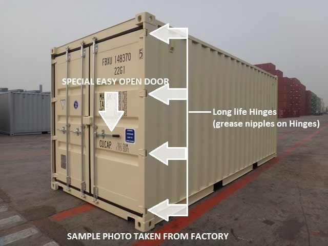 A1 Containers 20ft Std Hire Container (11)