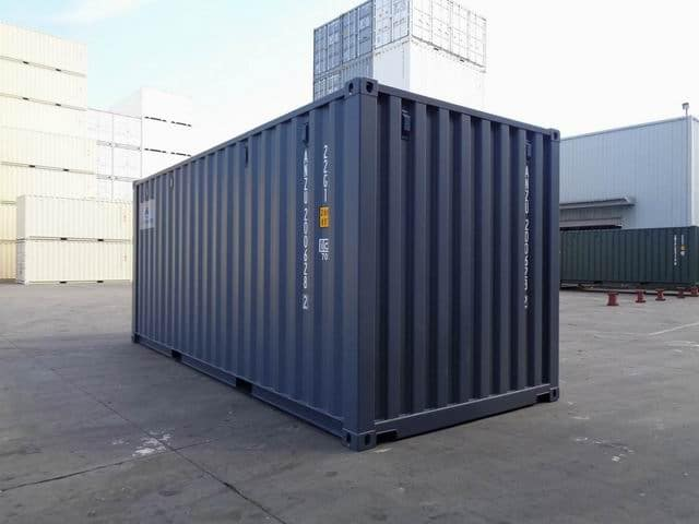 A1 Containers 20ft Std RAL7015 Grey Easy Open Door (11)