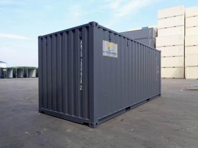 A1 Containers 20ft Std RAL7015 Grey Easy Open Door (13)