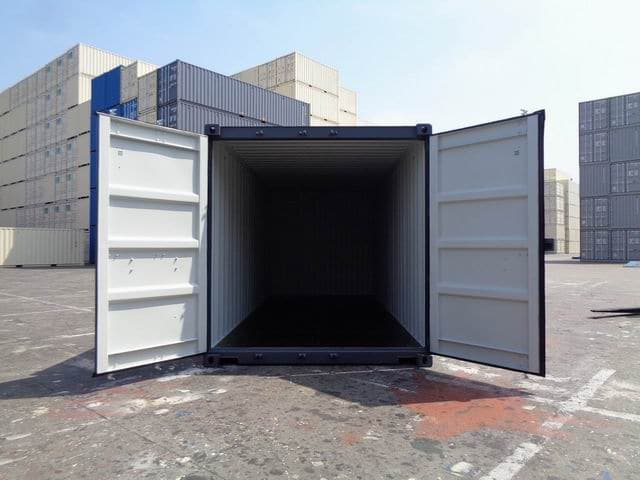A1 Containers 20ft Std RAL7015 Grey Easy Open Door (2)