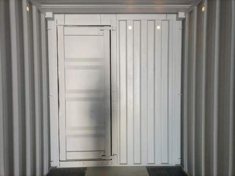 A1 Containers 40ft HC EOD - TRI Door Beige (11)