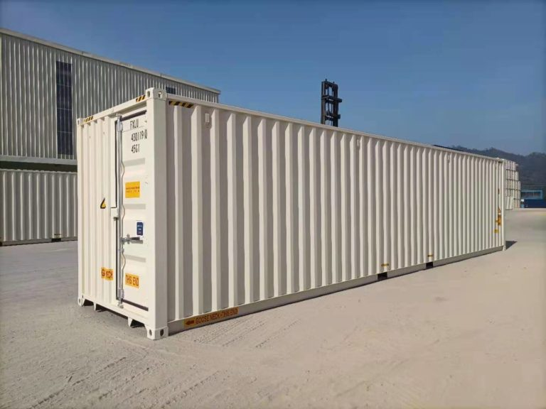 A1 Containers 40ft HC EOD - TRI Door Beige (12)