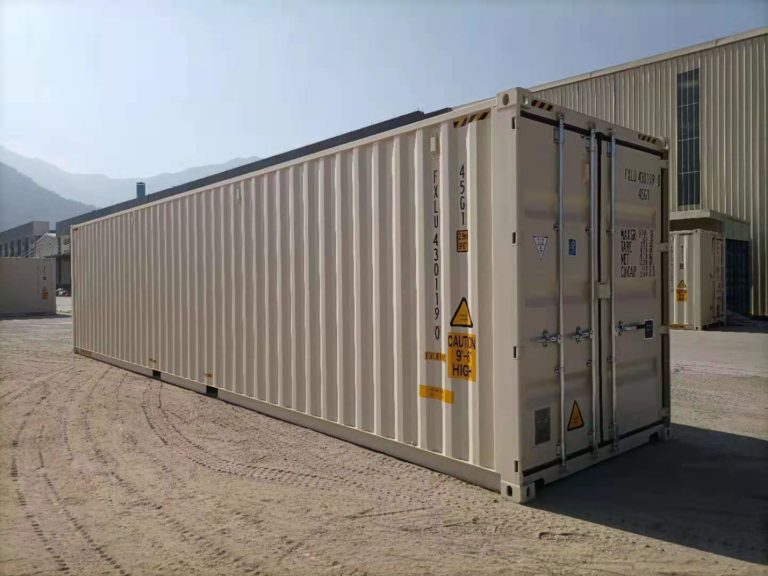 A1 Containers 40ft HC EOD - TRI Door Beige (13)