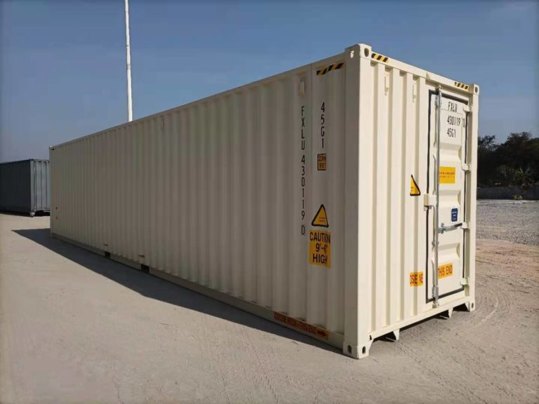 A1 Containers 40ft HC EOD - TRI Door Beige (16)