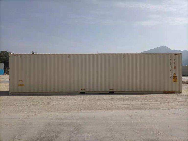 A1 Containers 40ft HC EOD - TRI Door Beige (2)