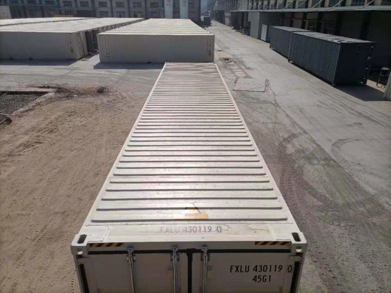 A1 Containers 40ft HC EOD - TRI Door Beige (3)