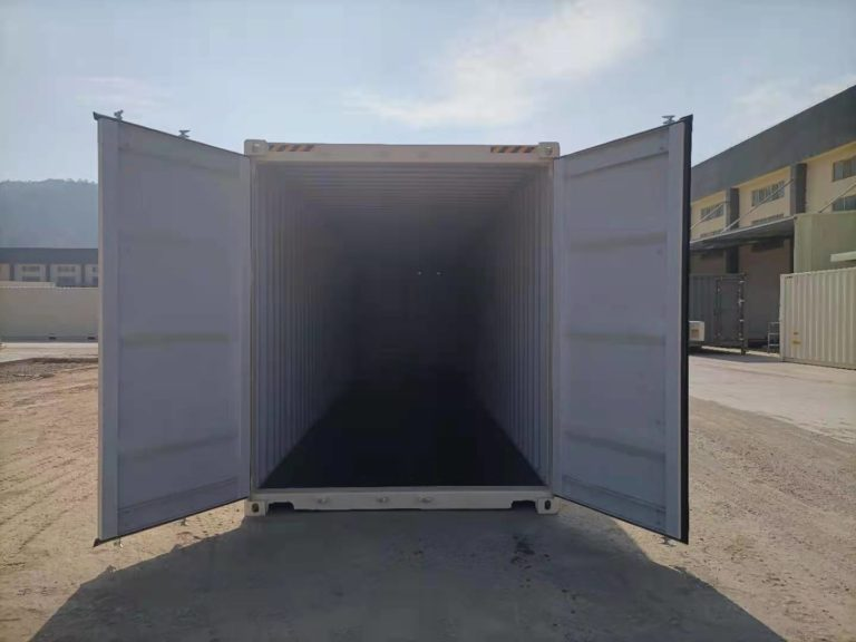 A1 Containers 40ft HC EOD - TRI Door Beige (7)