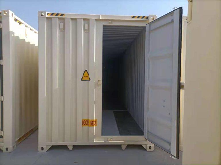 A1 Containers 40ft HC EOD - TRI Door Beige (8)