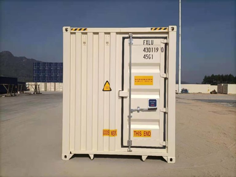 A1 Containers 40ft HC EOD - TRI Door Beige (9)