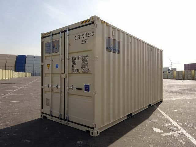 MAIN - 20ft High Cube EOD Beige A1 Containers (1)